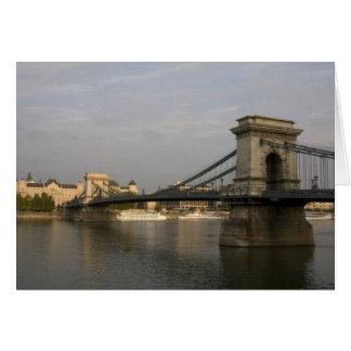 Szechenyi lanchid Szechenyi Chain Bridge), 2 Card