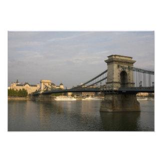 Szechenyi lanchid Szechenyi Chain Bridge), 2 Photo Print
