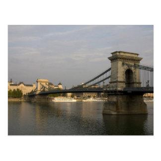 Szechenyi lanchid Szechenyi Chain Bridge 2 Post Card