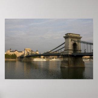 Szechenyi lanchid Szechenyi Chain Bridge), 2 Print