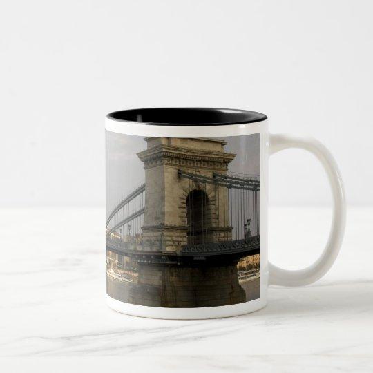 Szechenyi lanchid Szechenyi Chain Bridge), 2 Two-Tone Coffee Mug