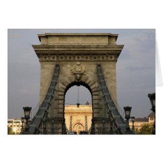 Szechenyi lanchid Szechenyi Chain Bridge), Card