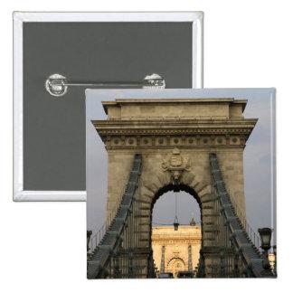 Szechenyi lanchid Szechenyi Chain Bridge), Pinback Button