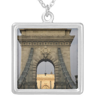 Szechenyi lanchid Szechenyi Chain Bridge), Silver Plated Necklace