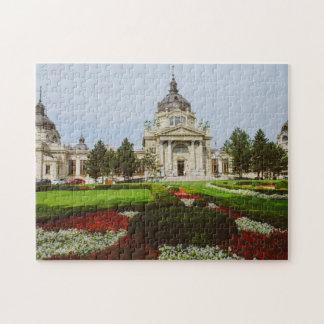 Széchenyi thermal bath, Budapest Jigsaw Puzzle