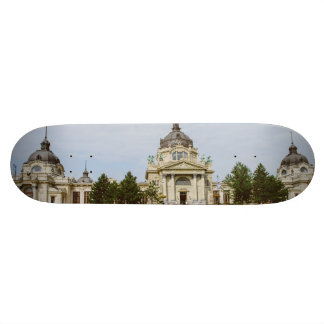 Széchenyi thermal bath, Budapest Custom Skate Board