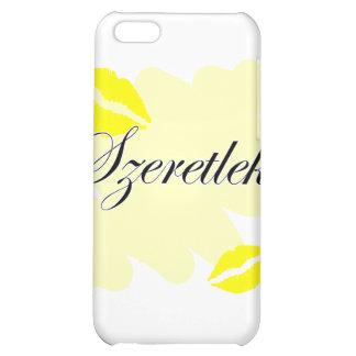 Szeretlek - Hungarian I love you iPhone 5C Cover