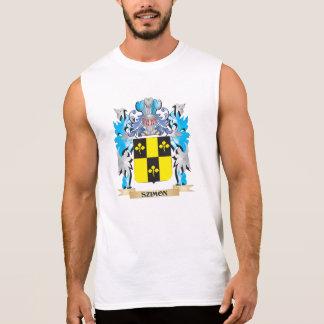Szimon Coat of Arms - Family Crest Sleeveless T-shirt