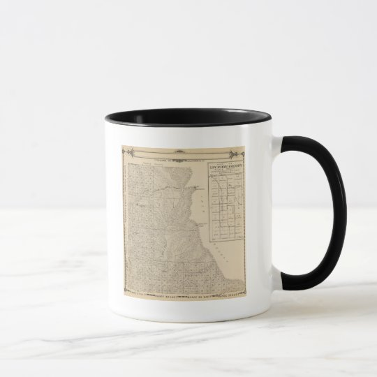 T1417S R3235E Tulare County Section Map Mug