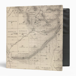 T15S R25E Tulare County Section Map 3 Ring Binder