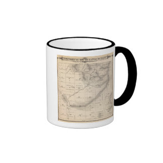 T15S R25E Tulare County Section Map Ringer Mug