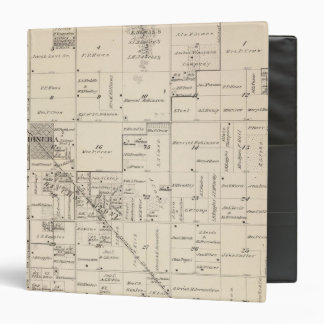 T16S R24E Tulare County Section Map 2 3 Ring Binder
