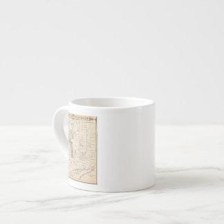 T17S R23E Tulare County Section Map 6 Oz Ceramic Espresso Cup