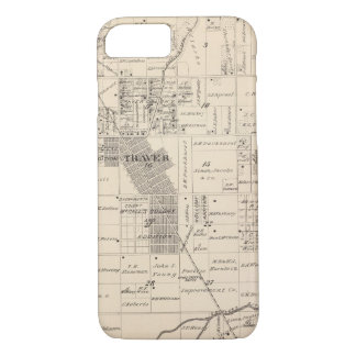T17S R23E Tulare County Section Map iPhone 7 Case