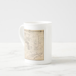 T17S R23E Tulare County Section Map Tea Cup