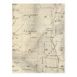 T17S R27E Tulare County Section Map Postcard