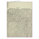 T1820S R3236E Tulare County Section Map Cards