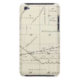 T18S R23E Tulare County Section Map Barely There iPod Case