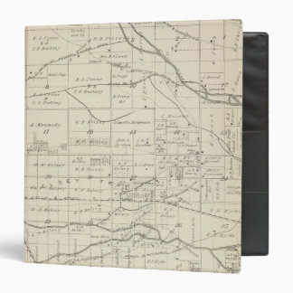 T18S R24E Tulare County Section Map 3 Ring Binder
