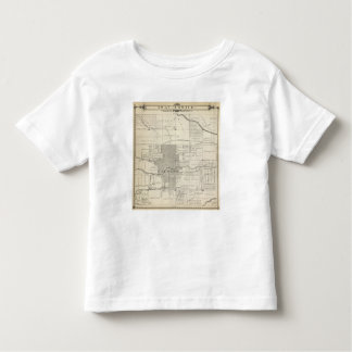 T18S R25E SW 1/4 Tulare County Section Map Shirt