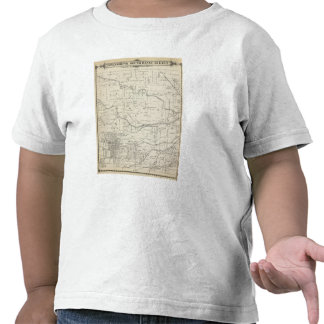 T18S R25E Tulare County Section Map Tshirts
