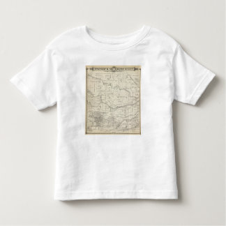 T18S R25E Tulare County Section Map Shirt
