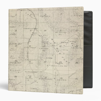 T18S R28E Tulare County Section Map 3 Ring Binder