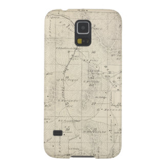 T18S R28E Tulare County Section Map Case For Galaxy S5