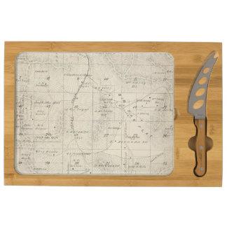 T18S R28E Tulare County Section Map Rectangular Cheeseboard