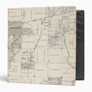 T19S R20E NE 1/4 Tulare County Section Map Binders