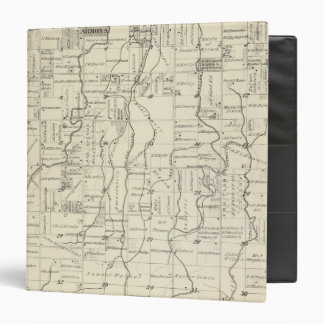 T19S R21E Tulare County Section Map 3 Ring Binders