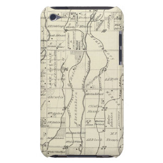 T19S R21E Tulare County Section Map Case-Mate iPod Touch Case