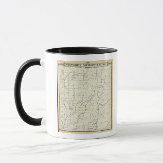 T19S R22E Tulare County Section Map Mug