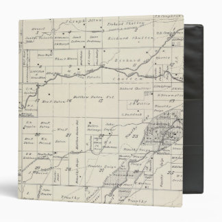 T19S R23E Tulare County Section Map 3 Ring Binders