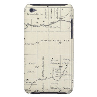 T19S R23E Tulare County Section Map iPod Touch Cases