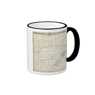 T19S R23E Tulare County Section Map Coffee Mug