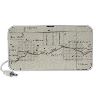 T19S R23E Tulare County Section Map Travelling Speakers