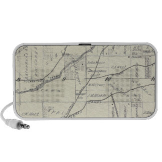 T19S R25E Tulare County Section Map Travel Speakers
