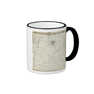 T19S R26E Tulare County Section Map Coffee Mugs