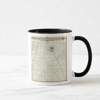 T19S R26E Tulare County Section Map Mug