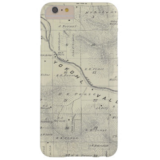 T19S R27E Tulare County Section Map Barely There iPhone 6 Plus Case