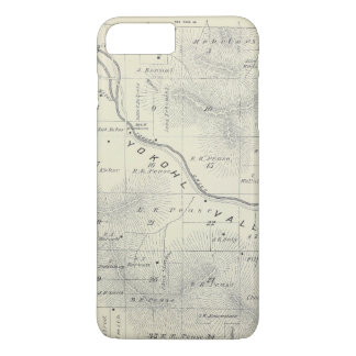 T19S R27E Tulare County Section Map iPhone 7 Plus Case