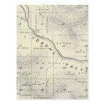 T19S R27E Tulare County Section Map Postcard