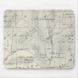 T19S R28E Tulare County Section Map Mouse Pad