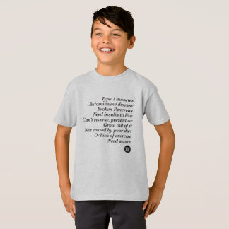 T1d Truth (Kid's) T-Shirt