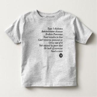 T1d Truth Toddler T-shirt