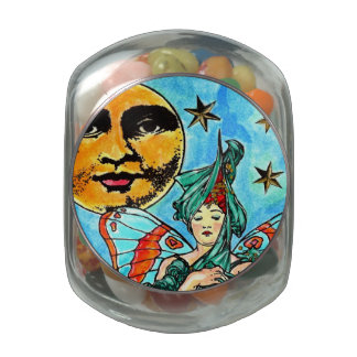 T1j Candy Tin / Jar Make it Happen Fairy