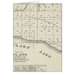 T2021S R2021E Tulare County Section Map Card