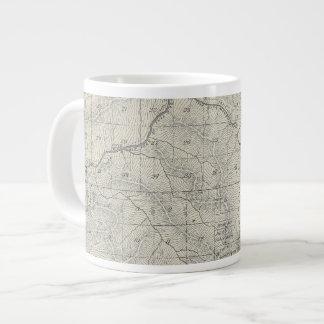 T2021S R3031E Tulare County Section Map 20 Oz Large Ceramic Coffee Mug