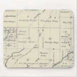 T20S R23E Tulare County Section Map Mouse Pad